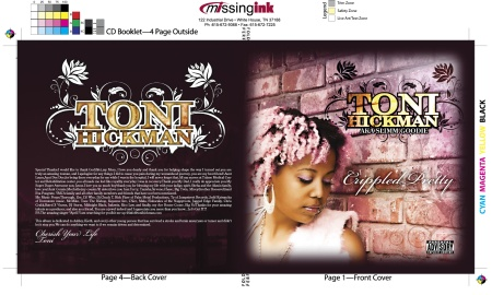 Toni Hickman CD Book